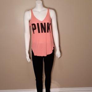 PINK Black/Pink Tank Top
